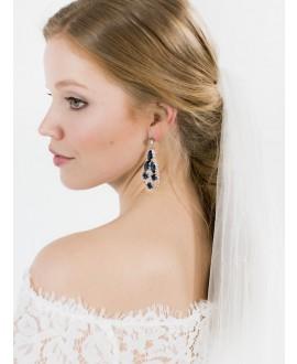 Julia | Bridal Earrings - Abrazi O7-OVL-SKT 207