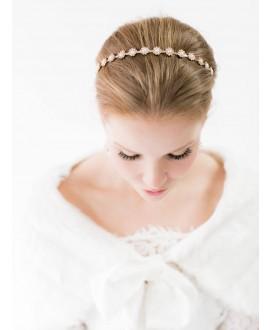 Abrazi Bridal Tiara T1-RP Rose