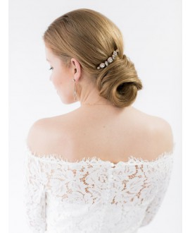 Abrazi Bridal Haircomb H3-RND Rose