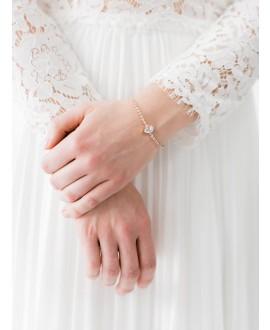 Abrazi Bridal Bracelet AC-SO-K Rose