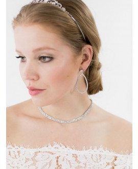 Sophia | Bridal Necklace - Abrazi KC-DK