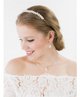 Nina | Bridal Necklace - Abrazi K1SP-12-650-OS