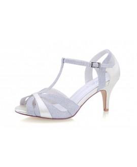 G. Westerleigh Wedding Shoes Corinne Silver