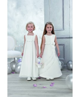 Emmerling Flower girl dress 91908 (left)