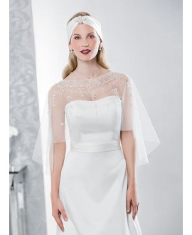 Emmerling Poncho for the bride 17060