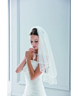 Veil 10067-Ivory-one layer - 150 x 110 cm | Emmerling