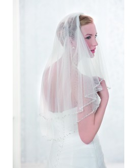 Veil 10089-Ivory-two layers - 200 x 300 cm | Emmerling