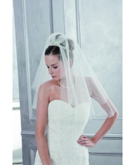 Veil 2800-Ivory-one layer - 200 x 250 cm | Emmerling