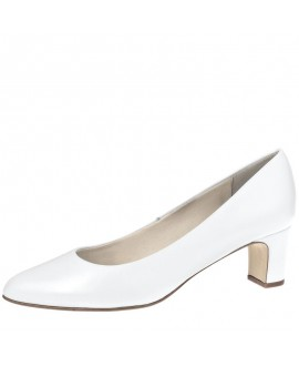 Fiarucci Bridal Wedding Shoes Anya White Leather