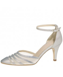 Fiarucci Bridal Wedding Shoes Cilla-Silver