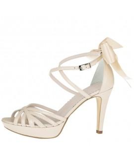 Fiarucci Bridal Wedding Shoes Dominique Nude Leather