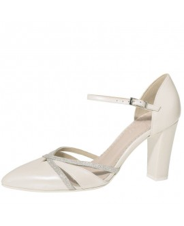 Fiarucci Bridal Wedding Shoes Florine Perle Leather