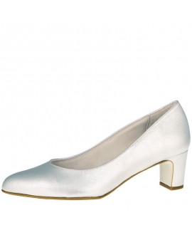 Fiarucci Bridal Wedding Shoes Palma Silver