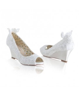 Bridal Wedge Flora Lace | The Perfect Bridal Company