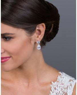 EG0987 Bridal Earrings | G. Westerleigh