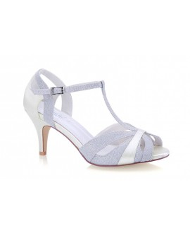 G. Westerleigh Wedding Shoes Corinne Silver