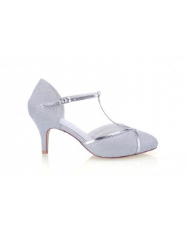 G. Westerleigh Wedding Shoes Zara Silver