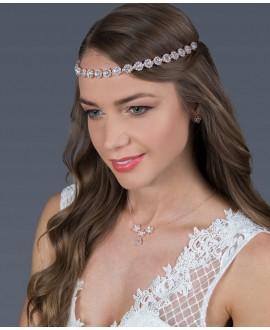G. Westerleigh Bridal Headband HS-J3766ARG
