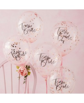 Ginger Ray Team Bride Confetti Balloons FH-214