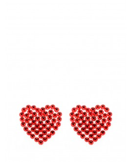 Red Heart bridal shoe sticker
