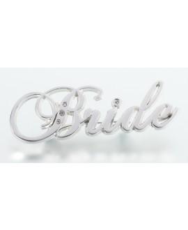 Bride Rhinestone Pin