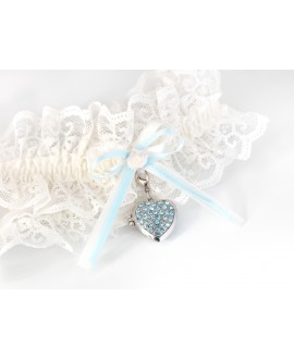 Luxury Garter with locket KB-31 Poirier