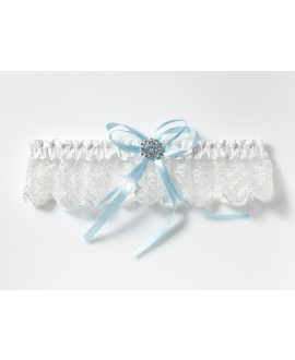 Garter with strass accessory KB-90 Poirier