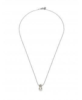 Abrazi Bridal Necklace KC-BC-3P-Silver