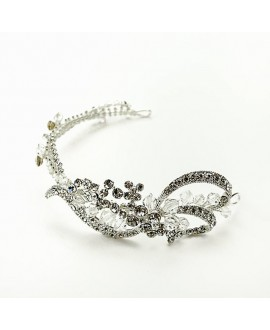 Hair jewellery with rhinestone | Noblesse 1626