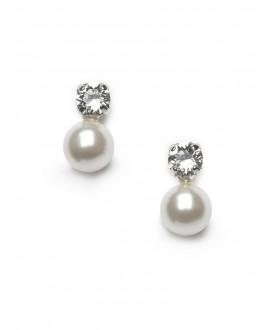 Nina | Bridal Earrings - Abrazi O5-SKT 8 MM