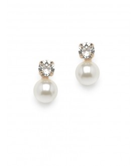 Scarlett | Bridal Earrings - Abrazi O5-SKT-8 Rose