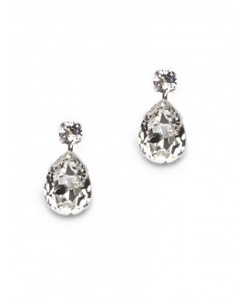 Sophia | Bridal Earrings - Abrazi O6-RND-SKT