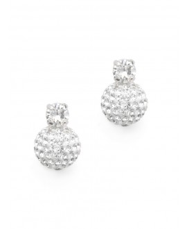 Emma | Bridal Earrings - Abrazi O6-SKT-MC 10MM