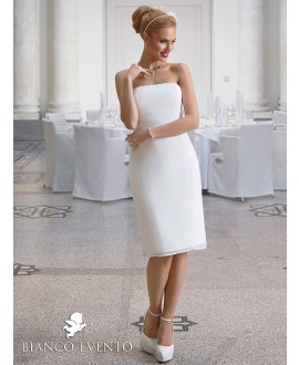 Sheath wedding dress Ortensia Bianco Evento