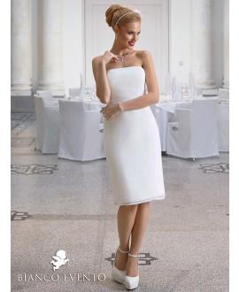 Sheath wedding dress Ortensia Bianco Evento