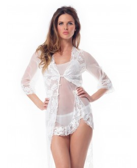 Nightdress with lace PA 1000 Poirier