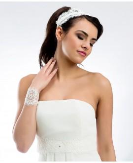 Satin bridal belt BBCPA1