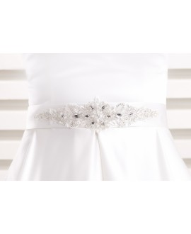 Satin bridal belt BBCPA2