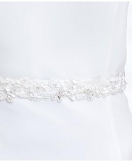 Satin bridal belt PA5