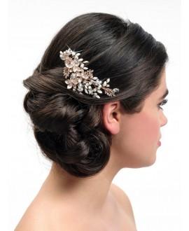 Poirier BB-432 Rose Bridal Haircomb