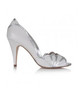 Rachel Simpson Wedding Shoes Isabelle Porcelain