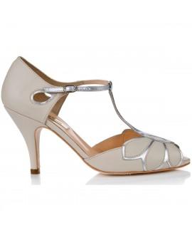 Rachel Simpson Wedding Shoes Mimosa Ivory