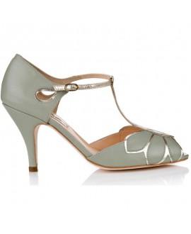 Rachel Simpson Wedding Shoes Mimosa Mint Green