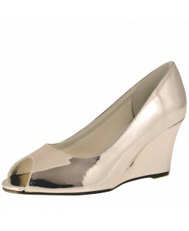 Rainbow Club Wedding Shoes Channa Rose-Gold Mirror