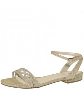 Rainbow Club Wedding Shoe Faye-Gold Metallic