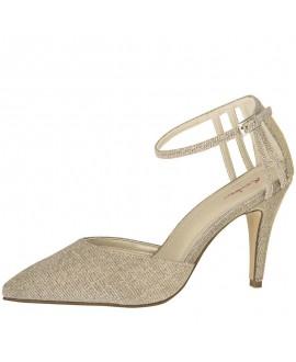 Rainbow Club Wedding Shoes Kennedy Gold Metallic