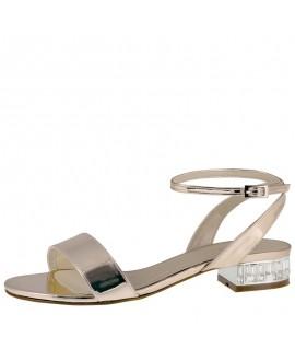Rainbow Club Wedding Shoes Whitny Rose-Gold Mirror