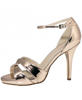 Rainbow Club Wedding Shoes Cate Rose-Gold