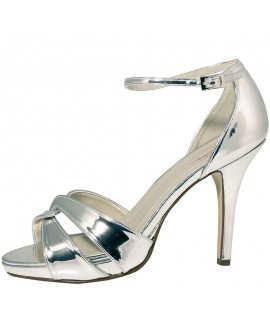 Rainbow Club Wedding Shoes Cate Silver