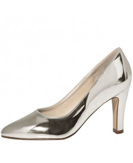 Rainbow Club Wedding Shoes Mandy Silver